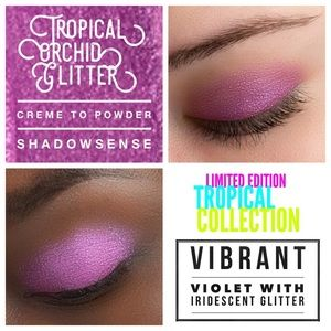 Tropical Orchid Glitter ShadowSense LIMITED ED.